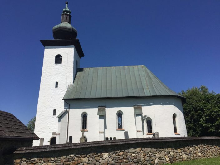 Geographical midpoint of Europe, Church of St. John Baptist