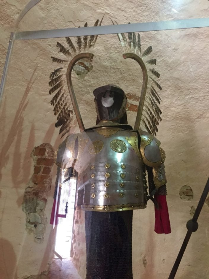 Armour of Polished Winged Hussars