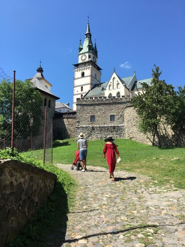 Kremnica, used to be among the most mining towns of Europe during the Middle Ages