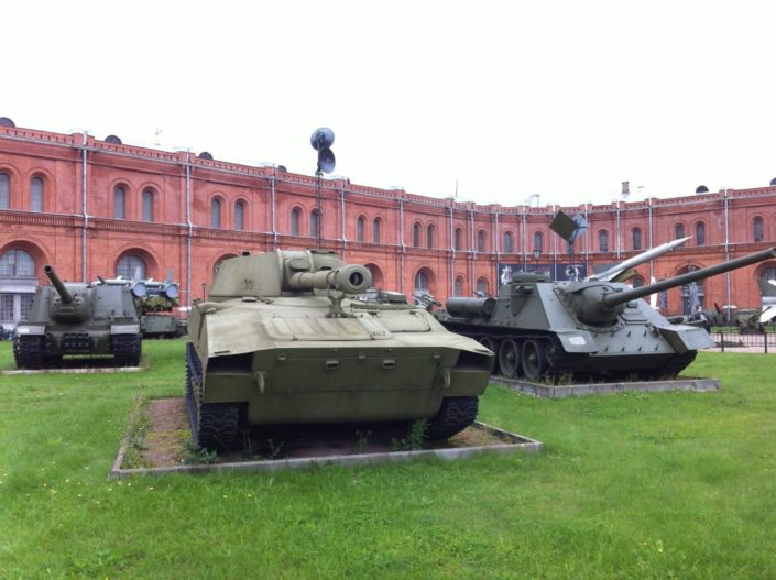 Artillery Museum. Artillery Museum. Its collections consists of military equipment, uniforms since the times of Peter the Great to a wide array of Cold War era artillery pieces and missiles.