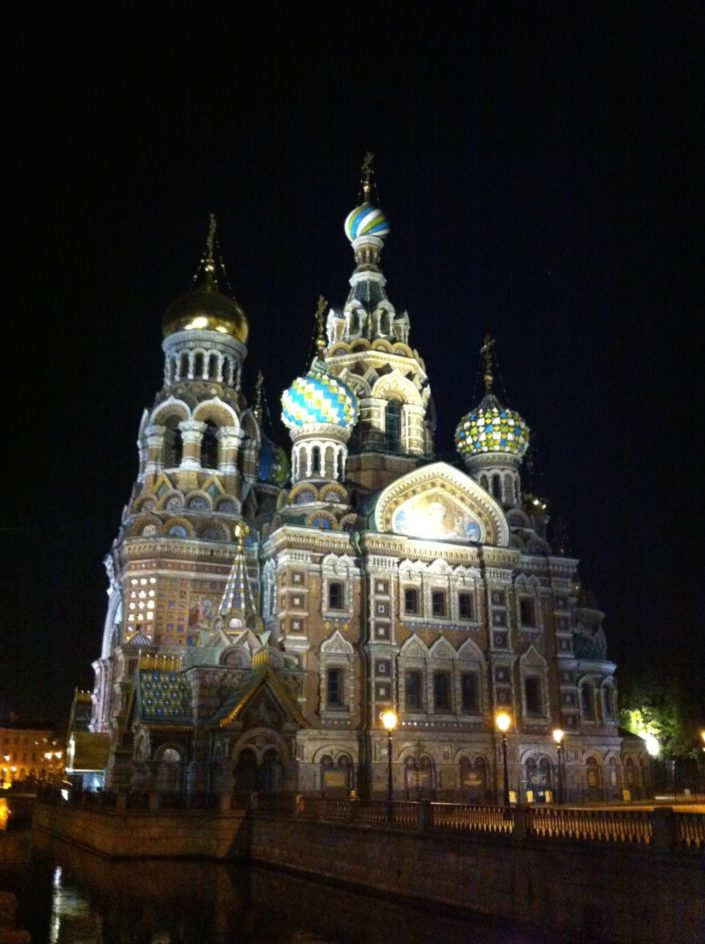 The Church of the Savior on Spilled Blood...The Church of the Savior on Spilled Blood, Церковь Спаса на Крови. Church was built on the site where Emperor Alexander II was assassinated by young anarchists.