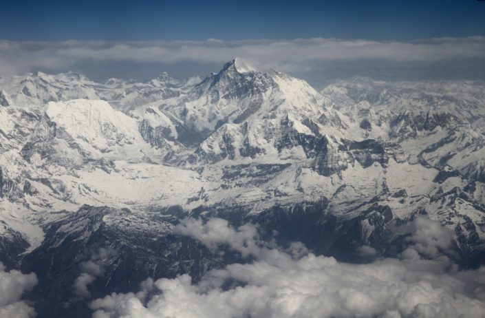 Himalayas, highest mountain in the world