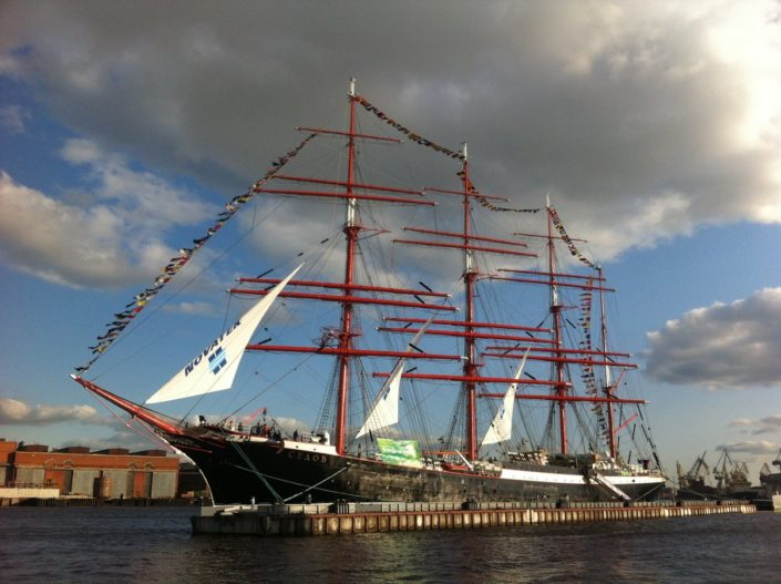STS Sedov, the largest traditional sailing ship in operation