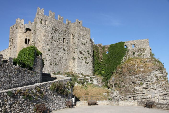 The Norman castle of Erice