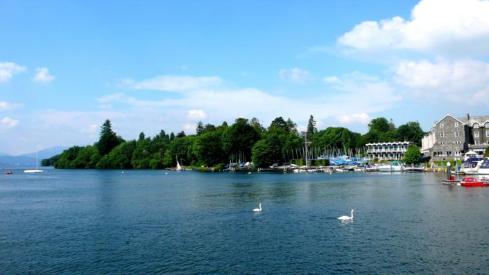 Windemere . The largest natural lake in England